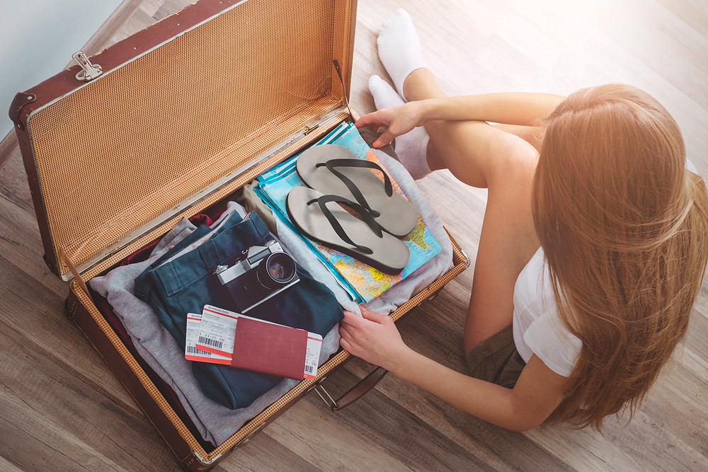 How reduce wrinkles when packing