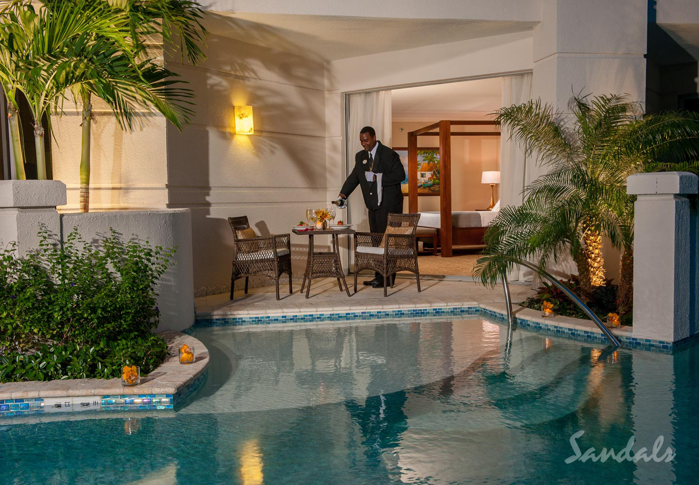 Travel Agency All-Inclusive Resort Sandals Royal Bahamian 120