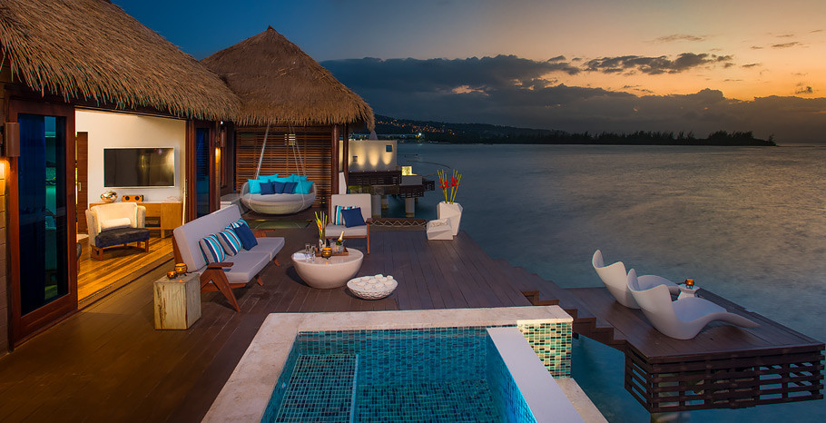 Sandals Royal Caribbean All-Inclusive Over the Water Bungalow