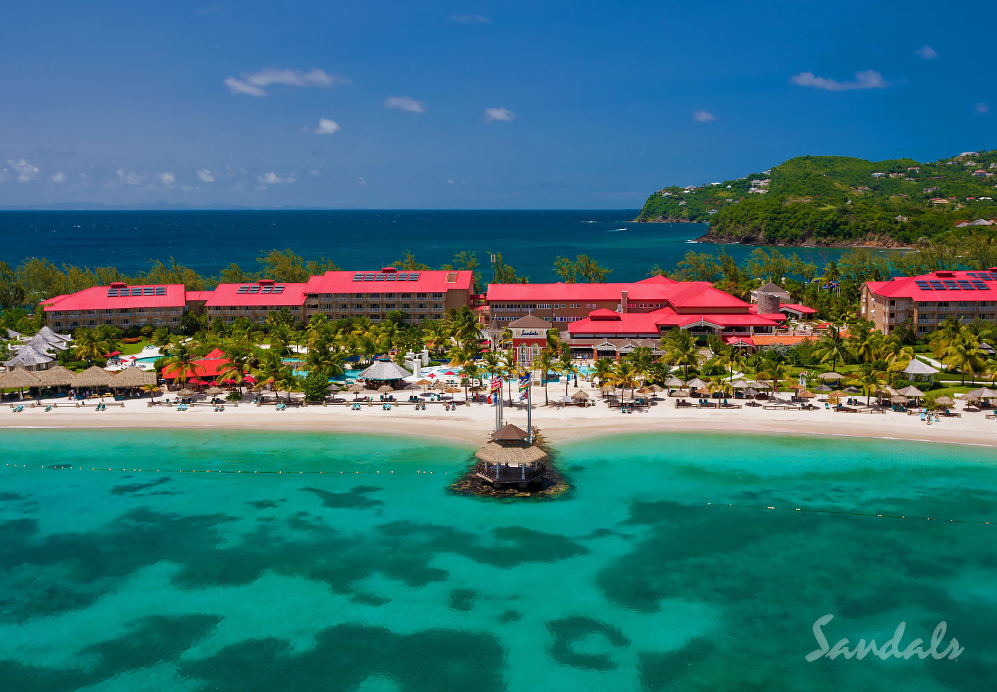 Travel Agency All-Inclusive Resort Sandals Grande St Lucian 07