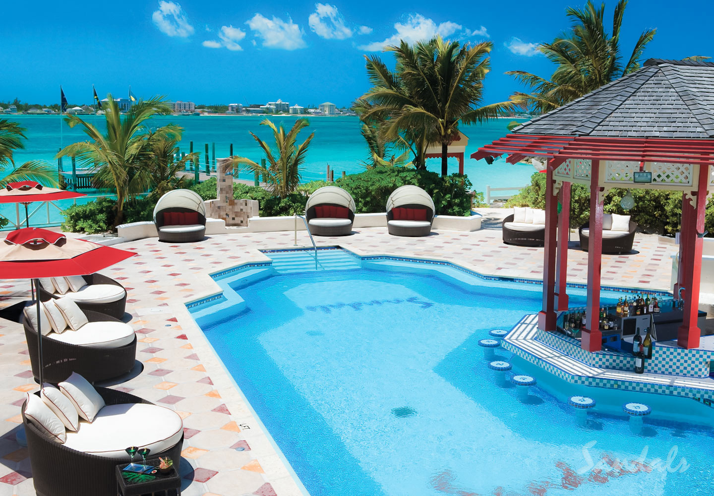Travel Agency All-Inclusive Resort Sandals Royal Bahamian 026