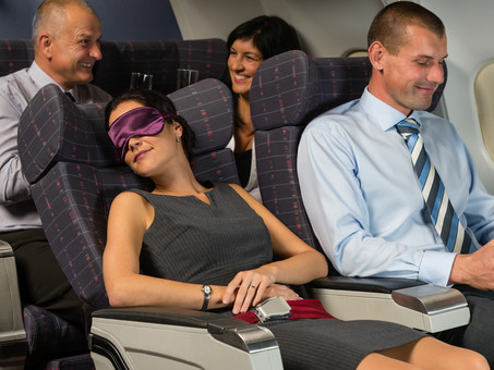 Turn Your Red-Eye into Some Shut Eye