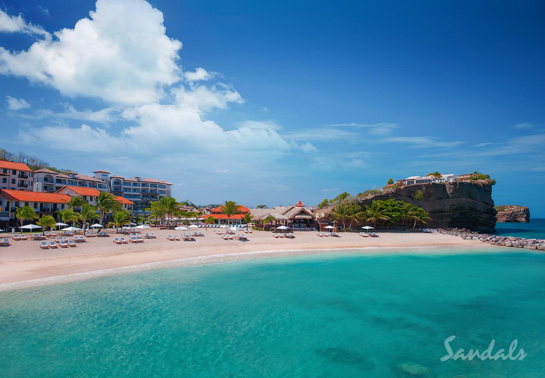 Travel Agency All-Inclusive Resort Sandals La Source Grenada 001