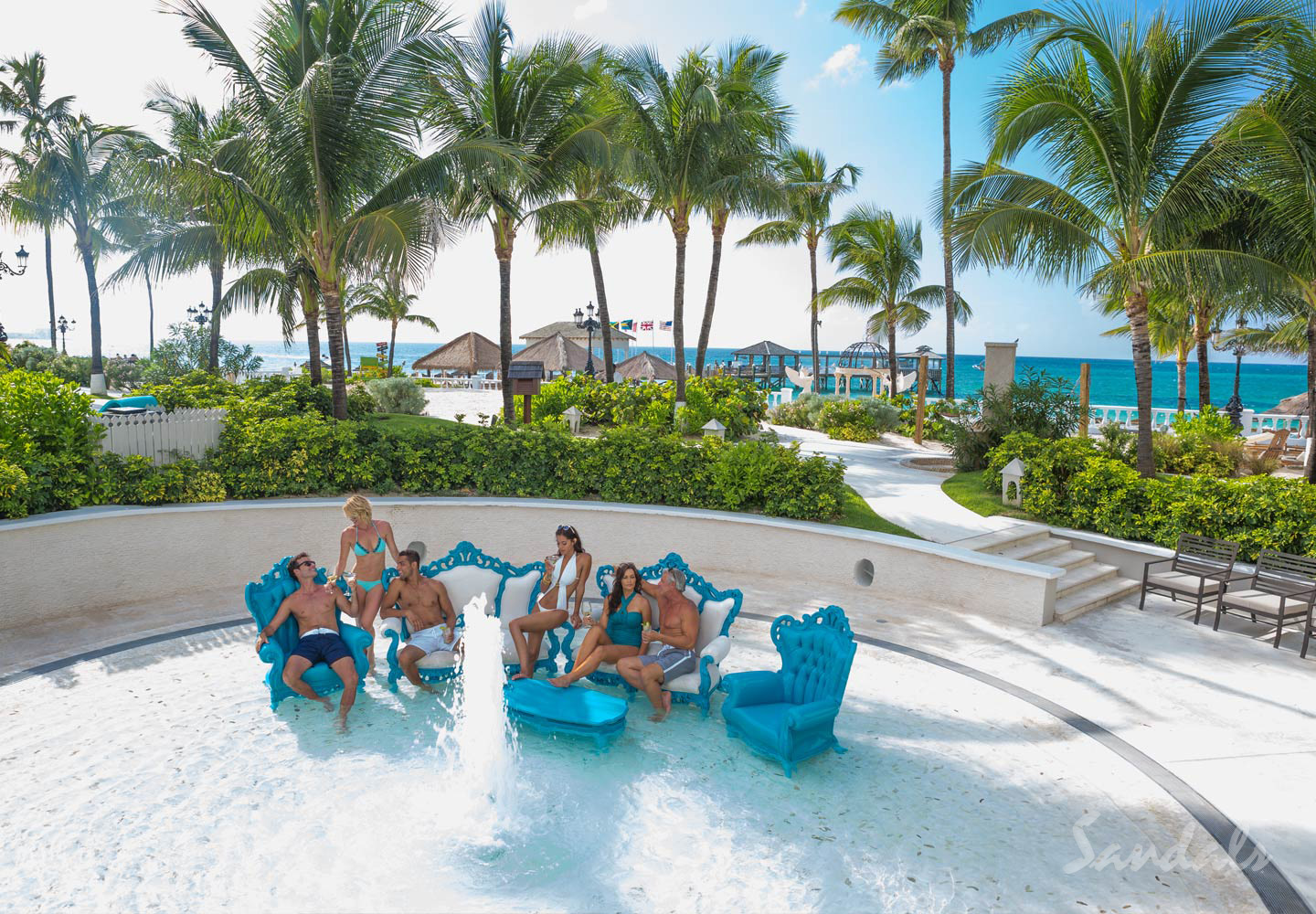 Travel Agency All-Inclusive Resort Sandals Royal Bahamian 100