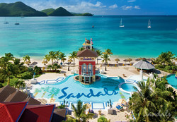 Travel Agency All-Inclusive Resort Sandals Grande St Lucian 13