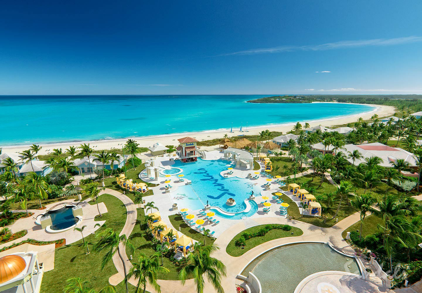 Travel Agency All-Inclusive Resort Sandals Emerald Bay 001
