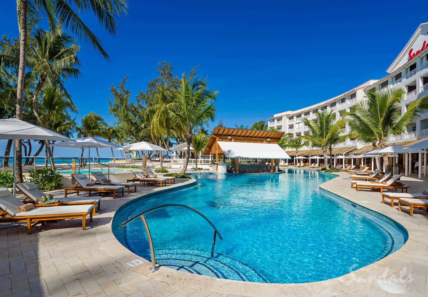Travel Agency All-Inclusive Resort Sandals Barbados 01