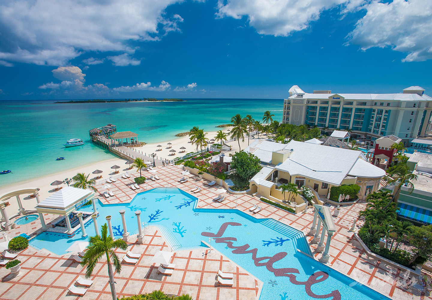 Travel Agency All-Inclusive Resort Sandals Royal Bahamian 002