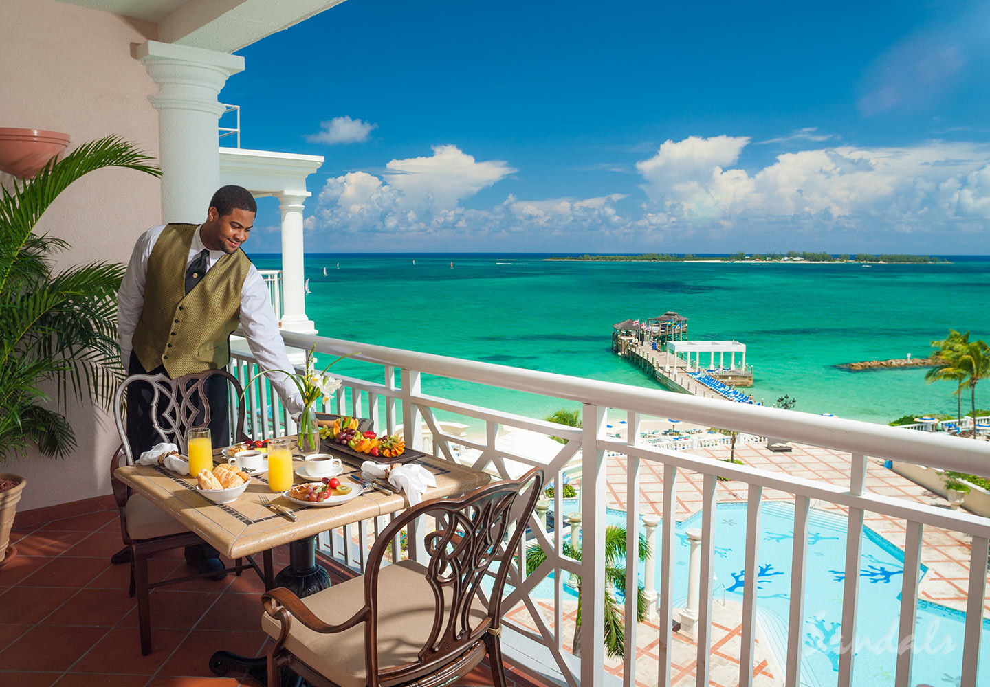 Travel Agency All-Inclusive Resort Sandals Royal Bahamian 039