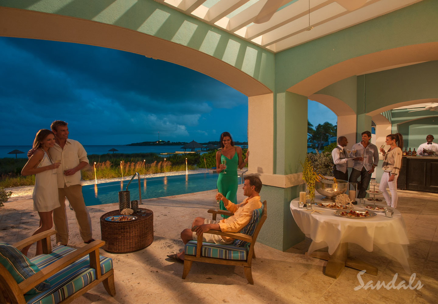 Travel Agency All-Inclusive Resort Sandals Emerald Bay 083
