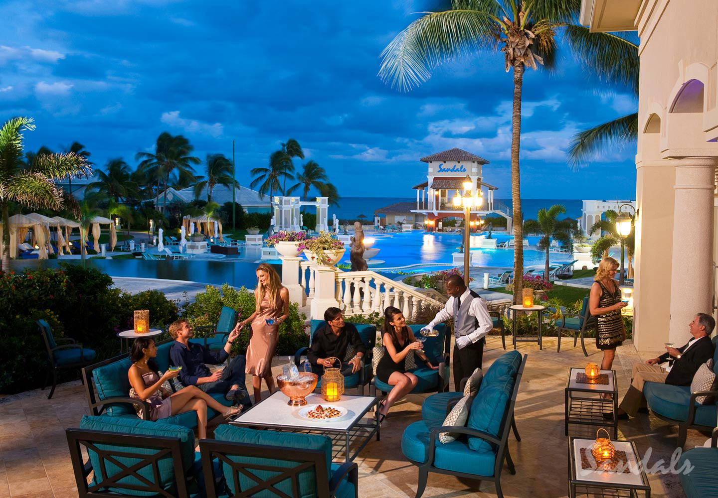 Travel Agency All-Inclusive Resort Sandals Emerald Bay 047