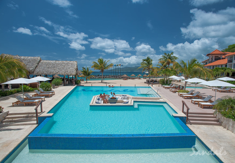 Travel Agency All-Inclusive Resort Sandals La Source Grenada 073