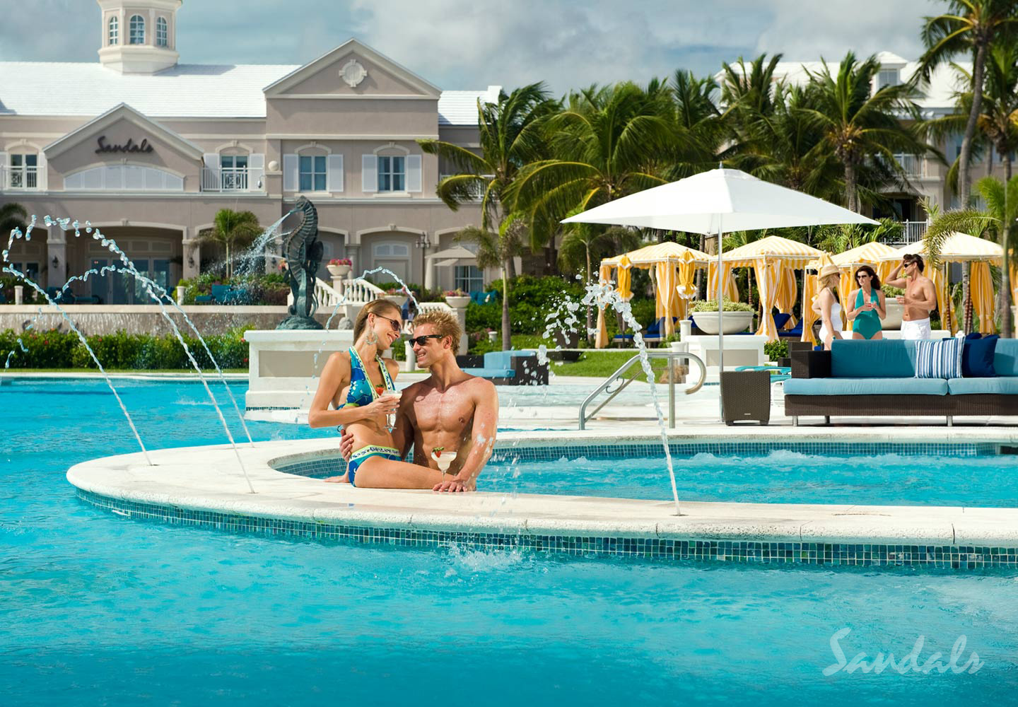 Travel Agency All-Inclusive Resort Sandals Emerald Bay 018