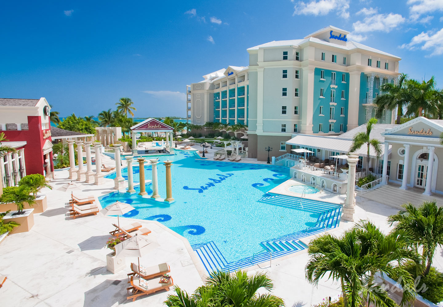 Travel Agency All-Inclusive Resort Sandals Royal Bahamian 007