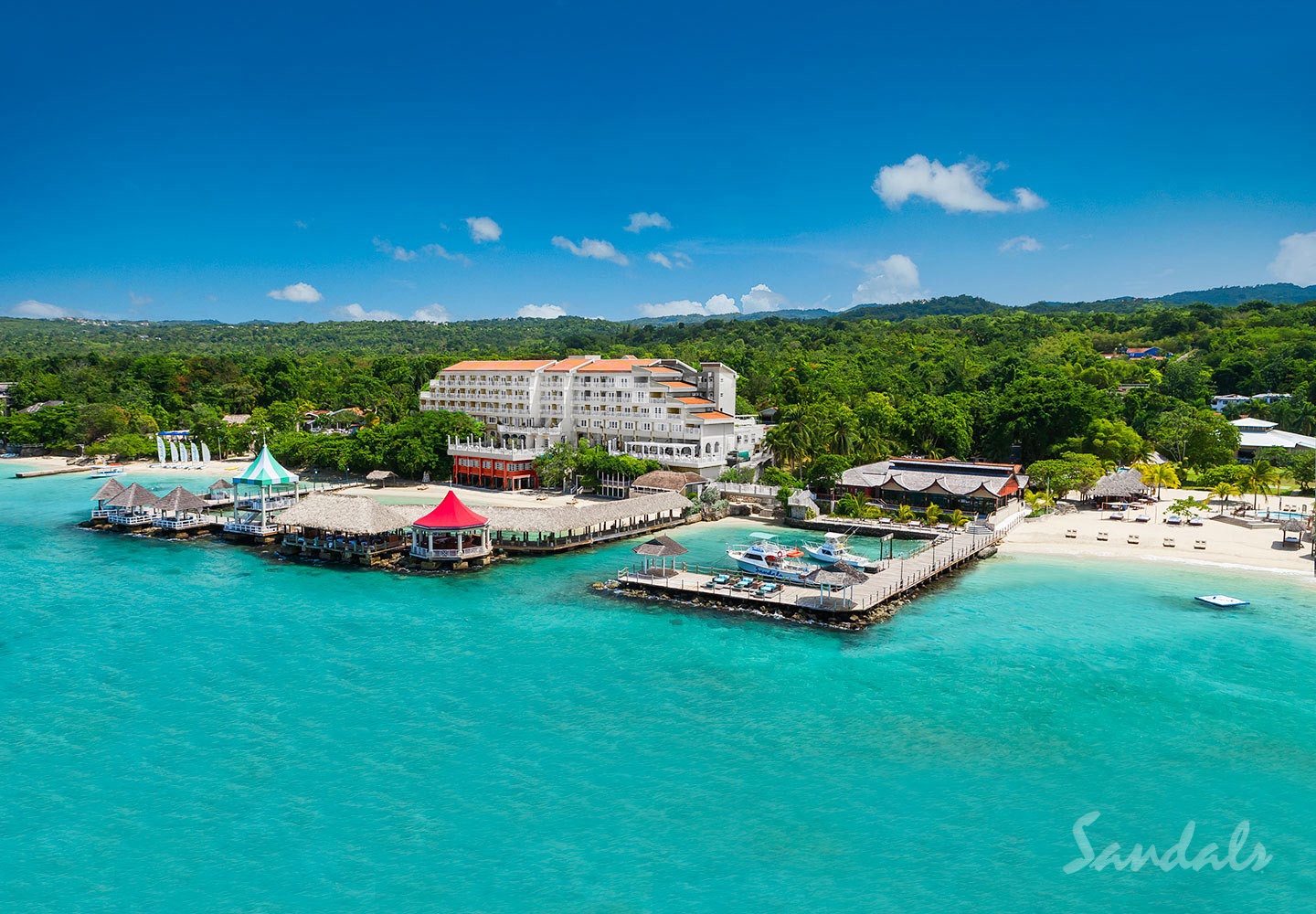 Travel Agency All-Inclusive Resort Sandals Ochi 074