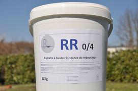 Rénov Route RR 0/4 asphalte coulé réparation trous nids de poule