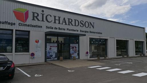 Facade Richardson St Etienne