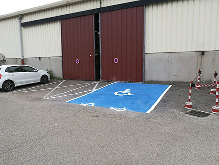 marquage parking rhone alpes