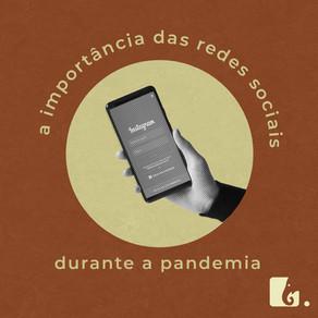 O uso das redes sociais durante a pandemia