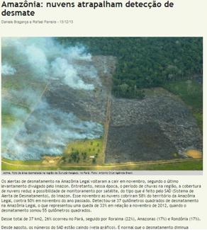 O papel do jornalismo no meio ambiente