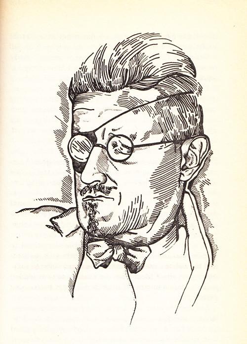 Retrato de Joyce por Barnes