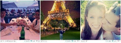 Ação de engajamento da Tiffany & Co (http://instagram.com/tiffanyandco) em que os usuários postavam fotos de histórias de amor reais.