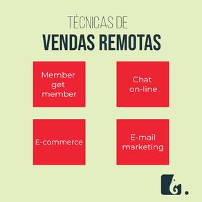 Técnicas de vendas remotas para melhorar o seu negócio