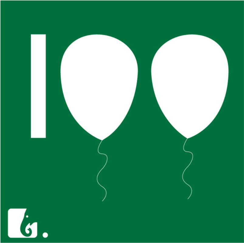 100 postagens
