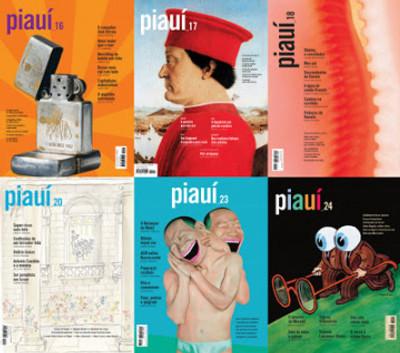 """Capas da revista """"Piauí"""""""