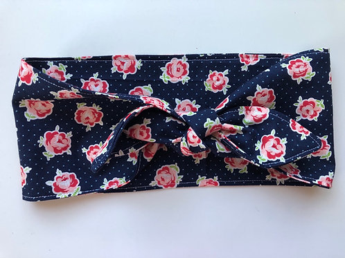 Rosie wrap floral/polka dot