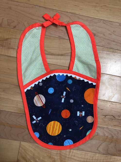Space Case Bib
