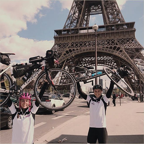 Making it to Paris for Challenging MND