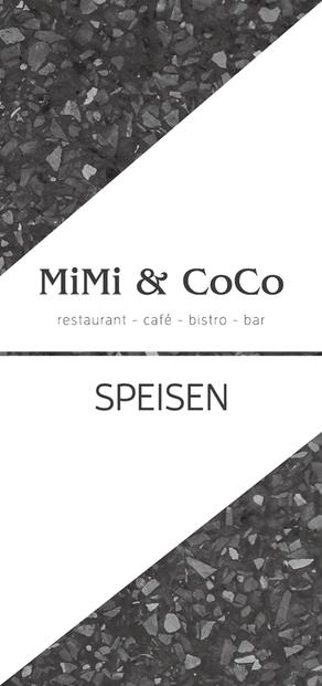 MiMi & CoCo Speisekarte