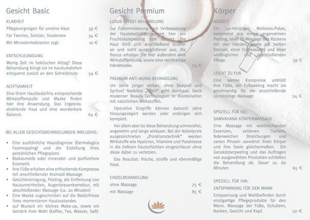 Haut Couture Wickelfalz-Flyer
