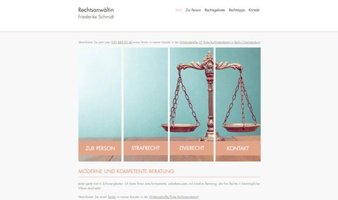 Rechtsanwältin Friedericke Schmidt