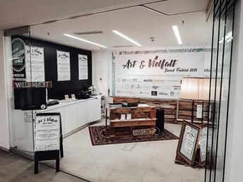 Art & Vielfalt Sunset Pop-Up-Store 2018