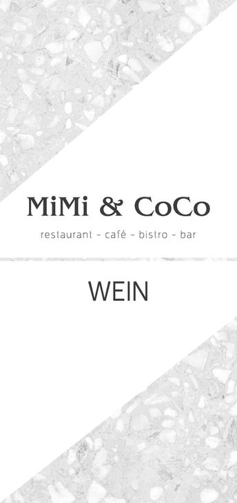MiMi & CoCo Weinkarte