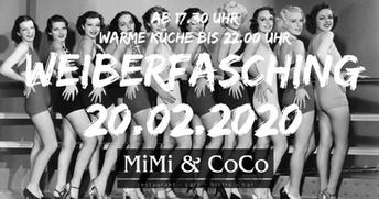 MiMi & CoCo Weiberfasching