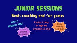 Junior Sessions - Every Monday 4.30-5.30pm
