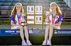 Katy & Lucy - National Pairs Champions 2021