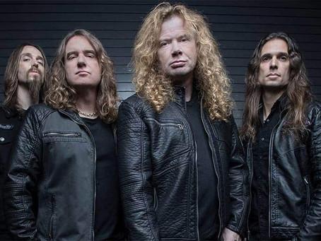 Megadeth planea grabar disco antes de que llegue el verano