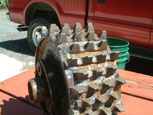 B-5 Feed Wheel