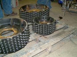 Spiked Feed Wheel