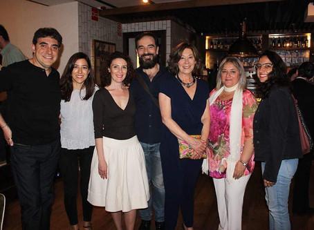Javier Peña, Actor en el homenaje a la actriz Fiorella Faltoyano en el Ateneo de Madrid.