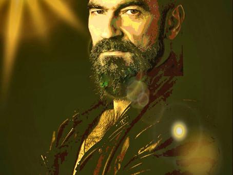 Javier Peña, Actor como modelo de retrato para Luis A. Ortega.