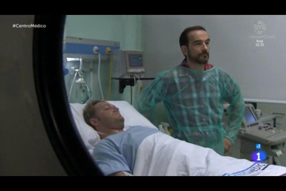 Javier Peña, Actor junto a su compañero de rodaje, Sergi Albert