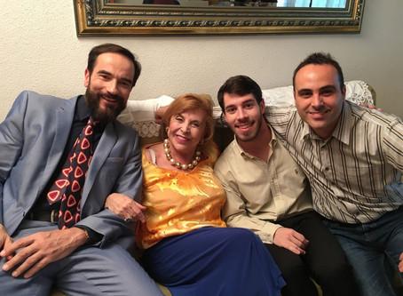 """Javier Peña, Actor coprotagoniza """"Es ley de vida"""" de Eitán Sandom junto a la veterana actr"""