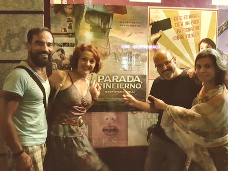 """Javier Peña, Actor en el estreno en Madrid de """"Stop over in hell"""" del director Víctor Mate"""