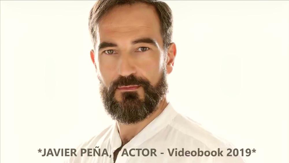 Carátula del nuevo Videobook de Javier Peña, Actor.