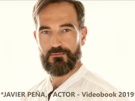 Javier Peña, Actor publica su Videobook 2019.